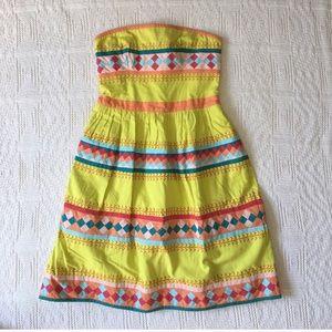 Anthropologie Dresses - Anthropologie embroidered dress